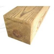 8ft 6&quot; x 6&quot;<br>Wooden Posts