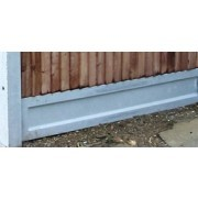 "12""x 6ft Plain Concrete Gravelboards"