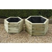 Hexagonal Planter - Set