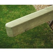 Planed Pine Border & Picket Post<br>90mm x 90mm x 1.35m